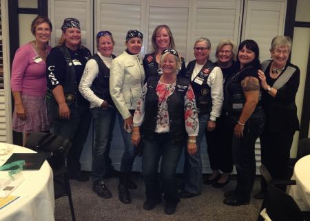 Thames Valley Iron Sirens & Members of BPW London Executive